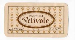 A. Immédiat Carte Parfumée ANCIENNE VELIVOLE DE  L.T. PIVER  Calendrier 1913 - Cartes Parfumées
