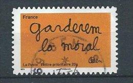 FRANCE Oblitere Autocollant  Cachet Rond Garderem Lo Moral - France