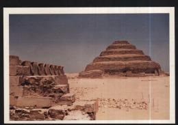 Egypt-sakkara-king Zoser Pyramid-unused,perfect Shape - Egypt
