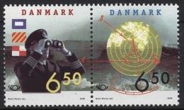 Dänemark 1186/87 ZD Postfrisch NORDEN: Seefahrt - Fiscaux