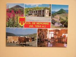 """15 COL De NERONNE """" La MARMOTTE """" Restaurant Bar Environs De Puy-Mary - France"""