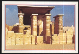 Egypt-sakkara-the Temple Of Zuser Pyramid-unused,perfect Shape - Other