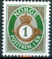NOORWEGEN 2013 Herdruk 1kr Posthoorn PF-MNH-NEUF - Norwegen