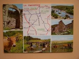 48 LA MARGERIDE SAINT-ALBAN-Sur-LIMAGNOLE RUYNES SAUGES St-CHELY MARJEVOLS GRANDRIEU LANGOGNE - Saint Alban Sur Limagnole