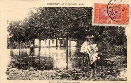 Dahomey Et Dépendances   - Une Propriété Inondée - Dahomey