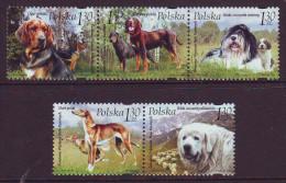 Poland 2006. Dogs. 5 V. MNH. Pf.** - 1944-.... Republic