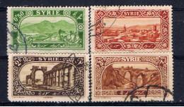 SYR+ Syrien 1925 Mi 265-66 270 272 Landschaften - Oblitérés