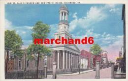 états Unis Old St Paul's Church And New Parish House Richmond Va - Richmond