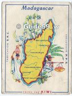 Chromo - Madagascar - Edité Par Kiwi (Exclusivité P. P. Z.) - Geografia