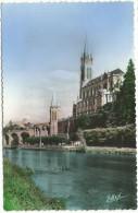 """Lourdes, - """" La Basilique Et Le Gave """" - Lourdes"""