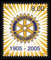 Estonia 2005 Mih. 505 Rotary International MNH ** - Estonia