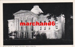 états Unis North Carolina Raleigh State Capitol At Night - Raleigh
