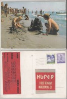 Children BOY Boys Nude On The Beach PC Us / 18759 - Enfants