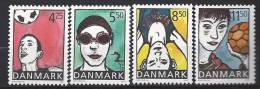 Danemark 2003 N° 1334/1337 Neufs ** Jeunesse Et Sport - Neufs