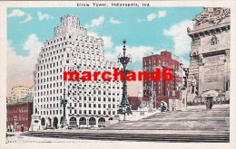 états Unis Indiana Circle Tower Indianapolis - Indianapolis