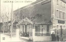 38 - GENAS - Isère - A La Boule D'Or - Café Rousset - Otros Municipios