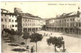LBL28-ARMOR- 1ère GUERE MONDIALE CPA SARZANA GÎTE D'ETAPE DE LIVOURNE - Guerre Mondiale (Première)