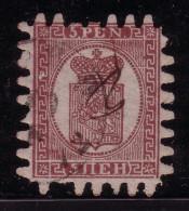 FINLANDE - N°5 - OBLITERE - COTE 175€. - Used Stamps