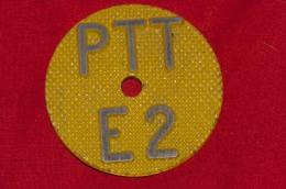 PTT Cable Marque Mark Telephone Ca. 1970 - Téléphonie