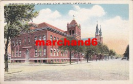 Etats Unis Georgia Benedictine College And Sacred Heart Church Savannah - Savannah