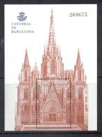 4.- SPAIN ESPAGNE 2012. MINIATURE SHEET. CATHEDRAL OF BARCELONA - Kirchen U. Kathedralen