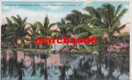Etats Unis Florida Scene On Himmershee Canal Fort Lauderdale - Fort Lauderdale
