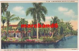 Etats Unis Florida A Waterfront Estate The Erkins Residence On New River Fort Lauderdale - Fort Lauderdale