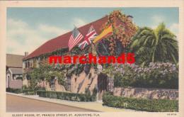 Etats Unis Florida Oldest St Francis Street St Augustine - St Augustine