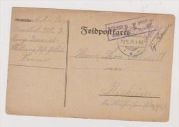 ALLEMAGNE  //  Feldpostkarte  //   De Hammer  ///   Pour Rixeim  //   29/11/1915 - Stamped Stationery