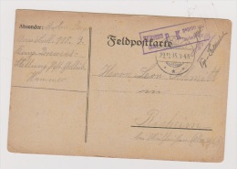ALLEMAGNE  //  Feldpostkarte  //   De Hammer  ///   Pour Rixeim  //   29/11/1915 - Ganzsachen