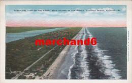 Etats Unis Florida Aeroplane View Of The Finest Race Course In The World Daytona Beach - Daytona