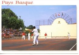 Saint Pée Sur Nivelle : Partie De Chistera Au Fronton De Saint Pée - Pays Basque (ed Lvielle) - Frankrijk