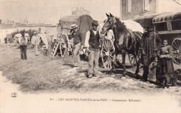 Cpa  13  Les Saintes-marie-de-la-mer , Campement De Bohemiens - Saintes Maries De La Mer