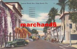 Etats Unis Florida Famous Worth Ave Palm Beach - Palm Beach