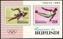 Burundi BL 0005** -  Jeux Olympiques De Tokio  MNH - Summer 1964: Tokyo