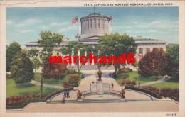 Etats Unis Ohio State Capitol And Mckinley Memorial Colombus - Columbus