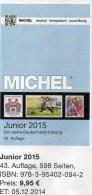 MlCHEL Junior Briefmarken Katalog 2015 Neu 10€ Deutschland DR III.Reich Danzig Saar Berlin SBZ DDR BRD 978-3-95402-094-2 - Telefoonkaarten