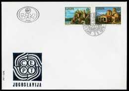 31960) Jugoslawien - Michel 1725 / 1726 - FDC - CEPT 78 - FDC