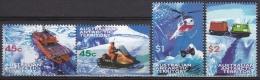 Australian Antartic Territory 1998 Yvert 115-18, Means Of Transport - MNH - Territoire Antarctique Australien (AAT)