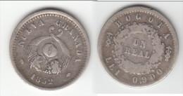 *** COLOMBIE - COLOMBIA - NUEVA GRANADA - BOGOTA - 1 REAL 1852 - UN REAL 1852 - ARGENT -SILVER *** EN ACHAT IMMEDIAT !!! - Colombia