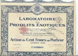 PRODUITS EXOTIQUES - Parfums & Beauté