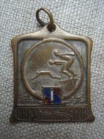 """Pendentif Médaille 1925 """" Brevet Du Nageur Scolaire """" Journal L'Intransigeant - Début XXème Siècle - Ecole - Natation !! - Swimming"""