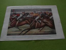 "The Tout ""Tip For The Derby 1931"" A E Bestall ""Coquette"" The Tatler June 3 1931 - Prenten & Gravure"