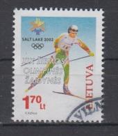 Lithuania 2002 Michel Nr 780 Used Salt Lake City Olympic - Lituania