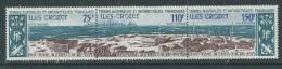 TAAF P. A.  N° 36A XX 10ème Anniversaire De La Base Alfred Faure, Le Triptyque  Sans Charnière, TB - Unused Stamps