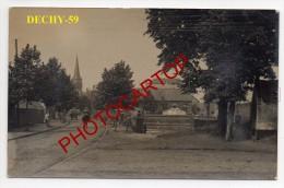 DECHY-Carte Photo Allemande-Guerre14-18-1WK-Frankreich-France-59- - Douai