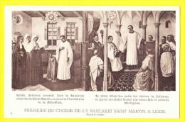 * Liège - Luik (La Wallonie) * (Pinxit A. Tassin, Nr 8) Fresques Du Choeur De La Basilique Saint Martin, Art, Rare, TOP - Liege