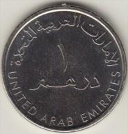@Y@    Verenigde Arabische Emiraten  U A E  .  1 Dirham 2014   (2749) - Emirats Arabes Unis