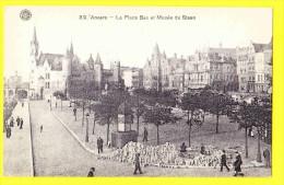 * Antwerpen - Anvers - Antwerp * (G. Hermans, Nr 89) Place Bex Et Musée Du Steen, Animée, Chateau, Kasteel, Rare, Old - Antwerpen