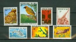 Mali,7 Diff.small Collection,kleine Collectie,kleine Kollektion,piccola Collezione,MNH/Postfris  (A1363) - Mali (1959-...)